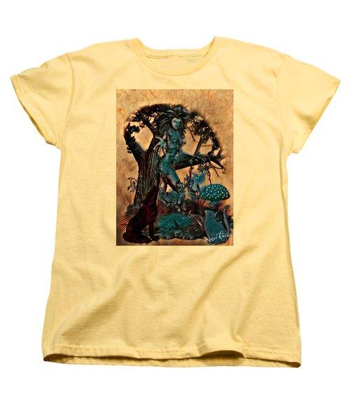 The Sacred Waters Women's T-Shirt (Standard Cut) by Vennie Kocsis