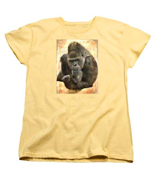 The Thinker Women's T-Shirt (Standard Cut) by Diane Alexander