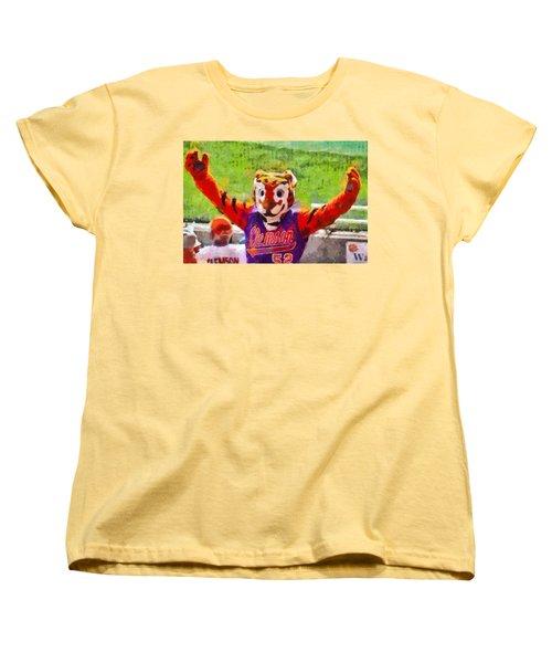 The Tiger Women's T-Shirt (Standard Cut) by Lynne Jenkins