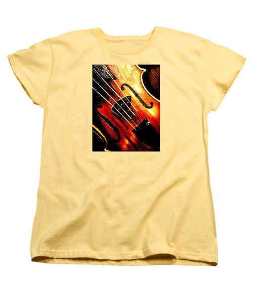 The Violin Women's T-Shirt (Standard Cut)