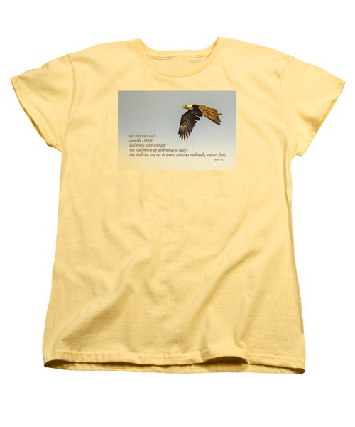 They That Wait Upon The Lord Women's T-Shirt (Standard Cut) by John Roberts