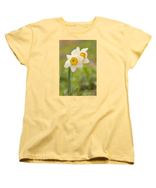 Thinking About Spring Women's T-Shirt (Standard Cut) by Alana Ranney