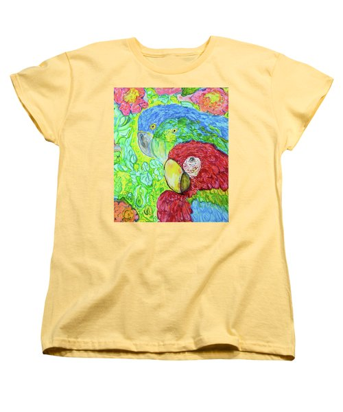 Three Amigos Women's T-Shirt (Standard Cut) by Susan D Moody