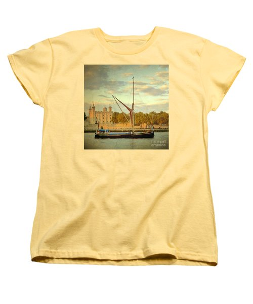 Women's T-Shirt (Standard Cut) featuring the photograph Time Travel by LemonArt Photography
