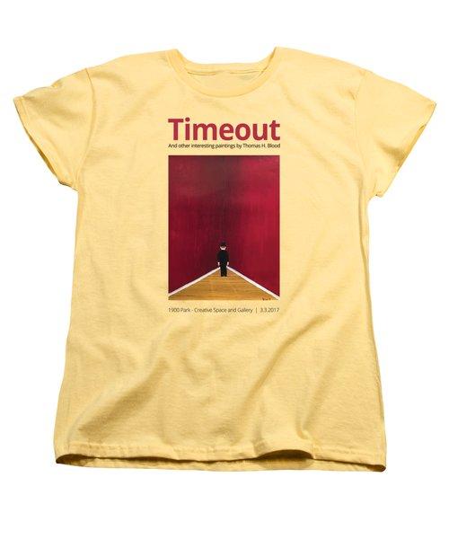 Timeout T-shirt Women's T-Shirt (Standard Cut) by Thomas Blood