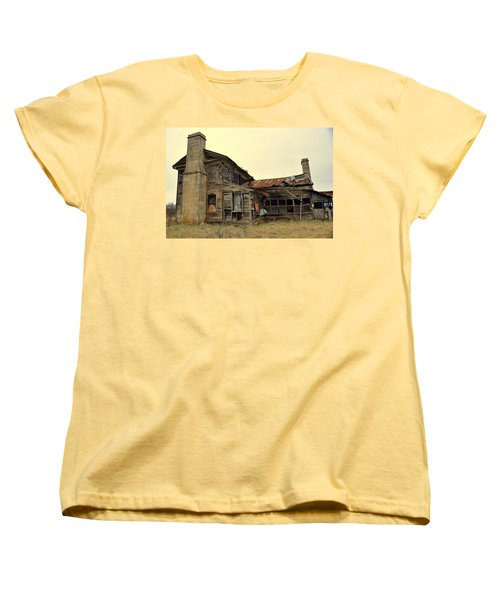 Women's T-Shirt (Standard Cut) featuring the photograph Times Past 2 by Marty Koch