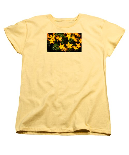 Tiny Suns Women's T-Shirt (Standard Cut) by Milena Ilieva