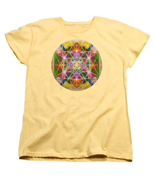 Torusphere Synthesis Bright Beginning Soulin I Women's T-Shirt (Standard Fit)