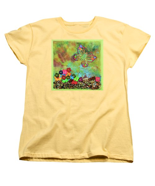 Touched By Enchantment Women's T-Shirt (Standard Cut) by Donna Blackhall