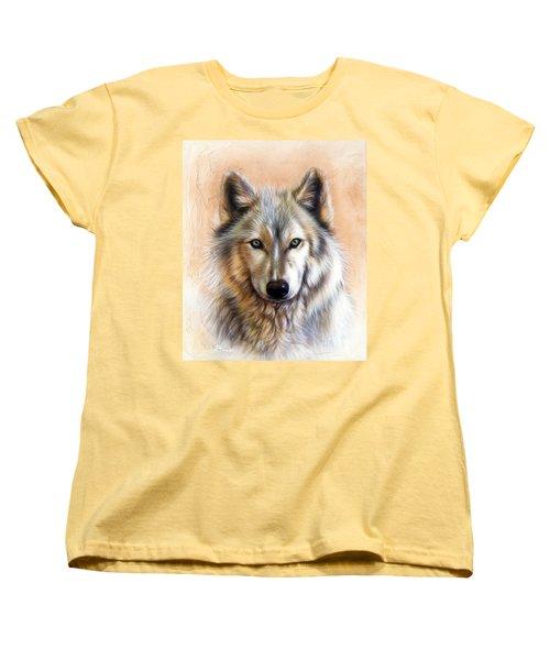 Trace Two Women's T-Shirt (Standard Cut) by Sandi Baker