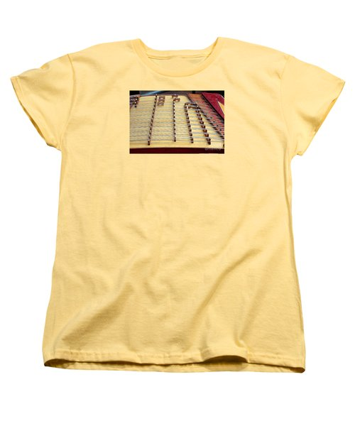 Traditional Chinese Instrument Women's T-Shirt (Standard Cut) by Yali Shi