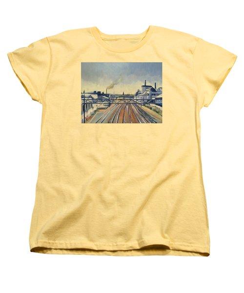 Train Tracks Maastricht Women's T-Shirt (Standard Fit)