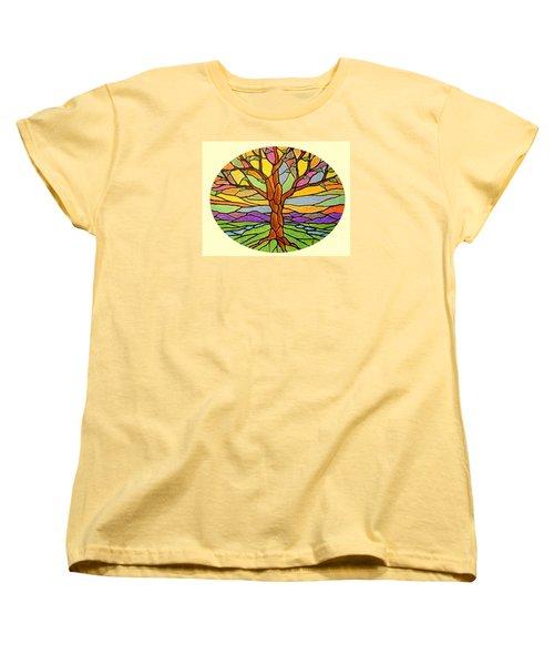 Tree Of Grace 2 Women's T-Shirt (Standard Cut) by Jim Harris
