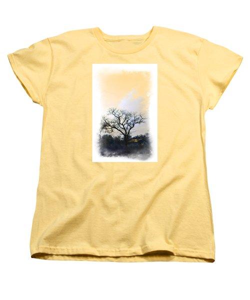 Women's T-Shirt (Standard Cut) featuring the photograph Tree Of La Vernia II by Carolina Liechtenstein
