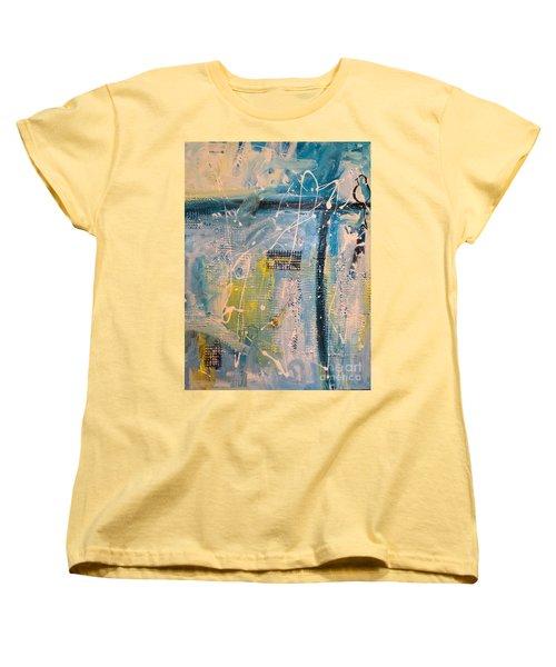 Tropicana Bird 01 Women's T-Shirt (Standard Cut) by Gallery Messina