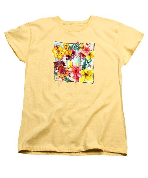 Tropicana By Kaye Menner Women's T-Shirt (Standard Cut) by Kaye Menner
