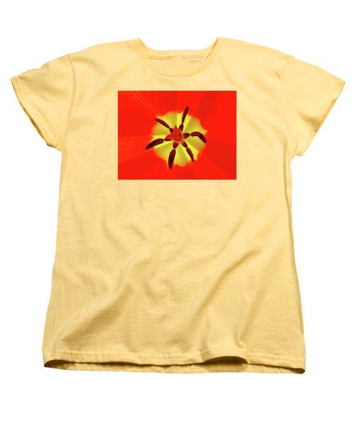 Tulip Women's T-Shirt (Standard Cut) by Bernhart Hochleitner