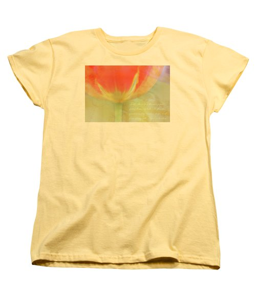 Tulip Women's T-Shirt (Standard Cut) by Catherine Alfidi