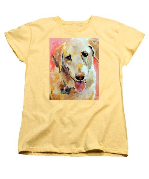 Tulip Women's T-Shirt (Standard Cut) by Jodie Marie Anne Richardson Traugott          aka jm-ART