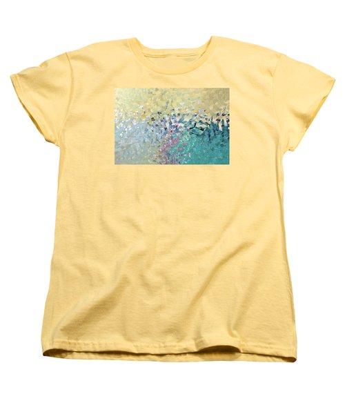 Turn Pain Into Purpose. Luke 8 39 Women's T-Shirt (Standard Cut) by Mark Lawrence