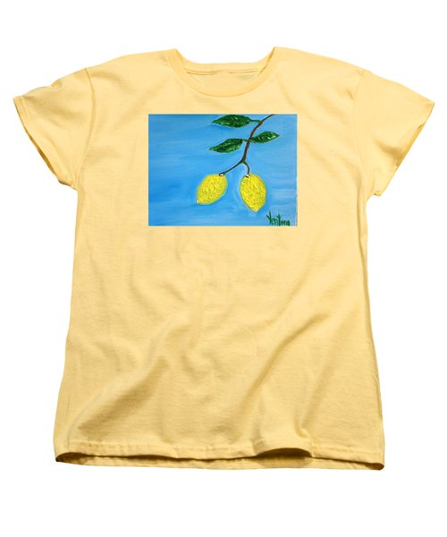 Two Lemons For Karen Women's T-Shirt (Standard Cut)