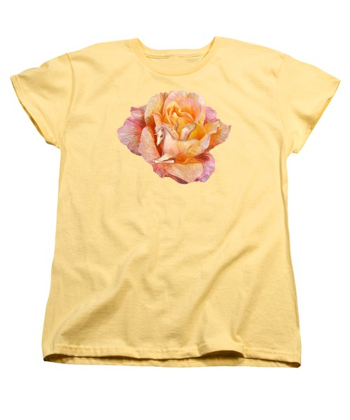 Unicorn Rose Women's T-Shirt (Standard Cut) by Carol Cavalaris