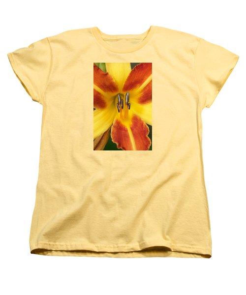 Vibrant Lilly Women's T-Shirt (Standard Cut) by Tiffany Erdman