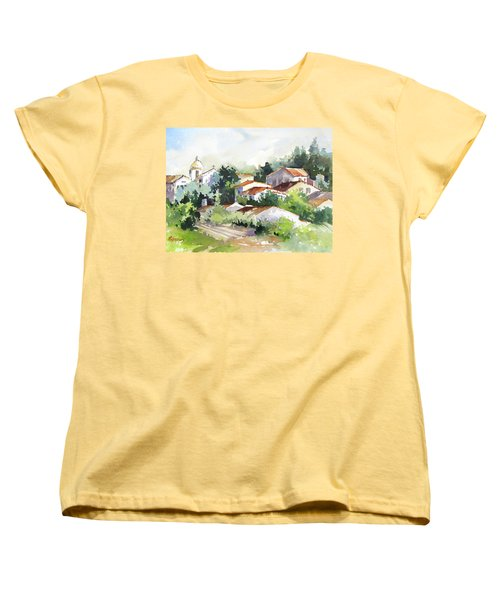 Village Life 5 Women's T-Shirt (Standard Cut) by Rae Andrews