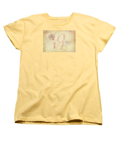 Women's T-Shirt (Standard Cut) featuring the photograph Vintage Love by Caitlyn Grasso
