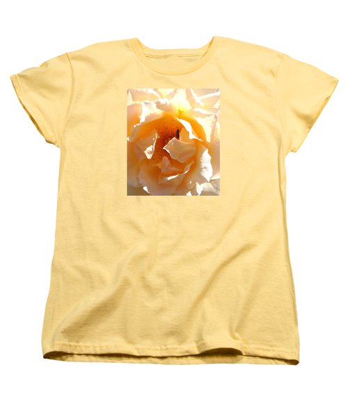 Women's T-Shirt (Standard Cut) featuring the photograph Visitor by Fred Wilson