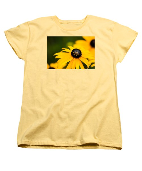 Visitor In The Garden Women's T-Shirt (Standard Cut) by Shelby  Young
