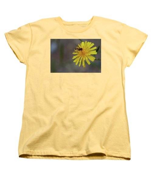 Visitor Women's T-Shirt (Standard Cut) by Scott Holmes