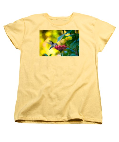 Waiting For Butterflies Women's T-Shirt (Standard Cut) by Craig Szymanski