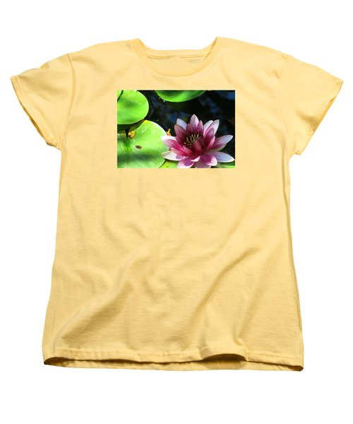 Water Lilly Women's T-Shirt (Standard Cut) by Betty Buller Whitehead