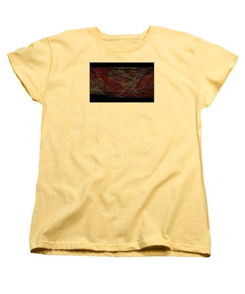 Abstract Visuals - Wavelengths Women's T-Shirt (Standard Cut) by Charmaine Zoe