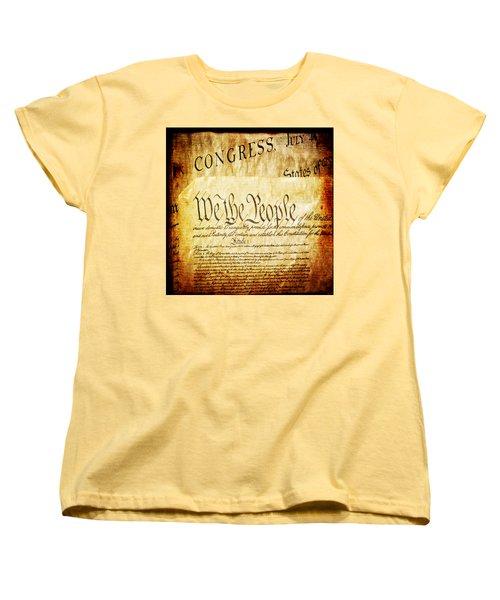 We The People Women's T-Shirt (Standard Cut)