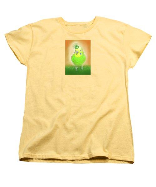 Women's T-Shirt (Standard Cut) featuring the digital art Wearin' Of The Green by Jean Pacheco Ravinski