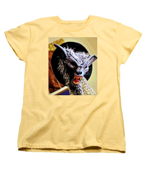 Women's T-Shirt (Standard Cut) featuring the photograph Werewolf Attack by Craig Wood