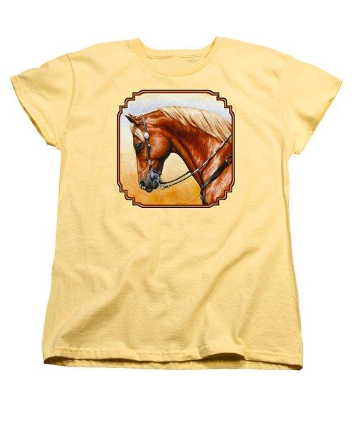 Western Pleasure Horse Phone Case Women's T-Shirt (Standard Fit)