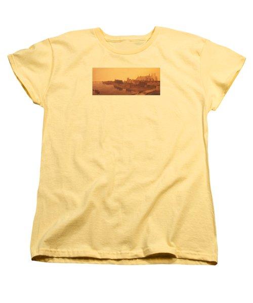 Westminster Abbey  Women's T-Shirt (Standard Cut) by Peter de Wint