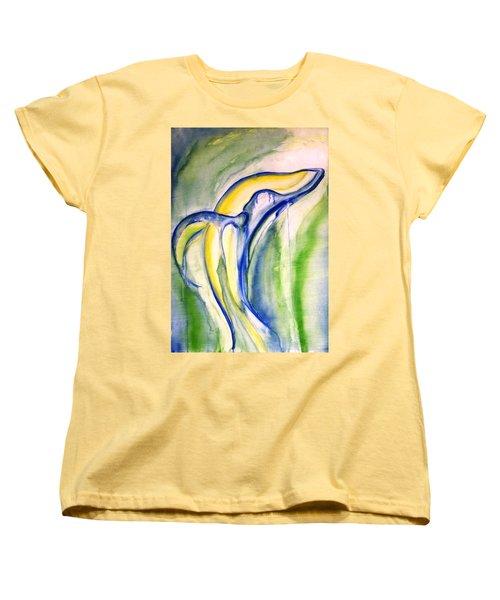 Whale Women's T-Shirt (Standard Cut) by Sheridan Furrer