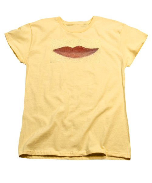 Women's T-Shirt (Standard Cut) featuring the painting What Is Beauty by Bill OConnor