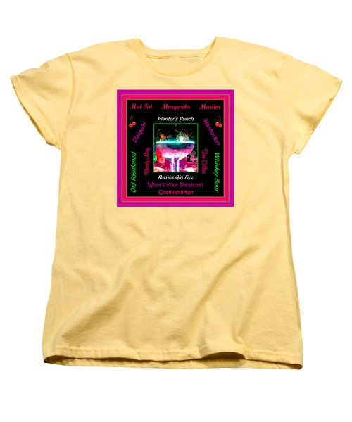 What's Your Pleasure Women's T-Shirt (Standard Cut) by Marian Bell