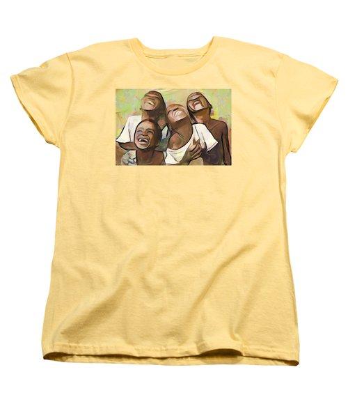 When We Were Boys Women's T-Shirt (Standard Cut)