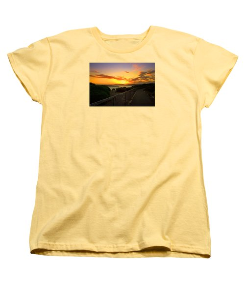 While You Walk Women's T-Shirt (Standard Cut) by Miroslava Jurcik