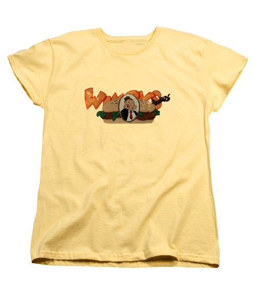 Women's T-Shirt (Standard Cut) featuring the photograph Whimpy by Tom Prendergast