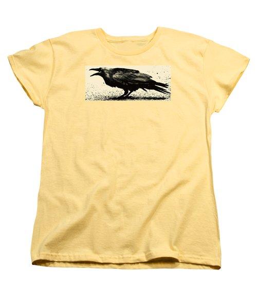Who Calling Women's T-Shirt (Standard Cut) by Jerry Cordeiro