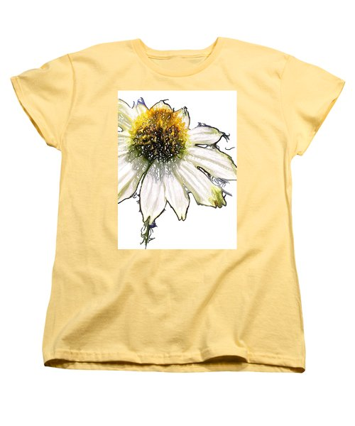 Women's T-Shirt (Standard Cut) featuring the photograph Wild Flower Five  by Heidi Smith