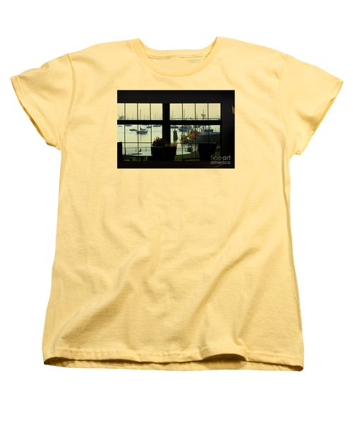 Window Painting Women's T-Shirt (Standard Cut)