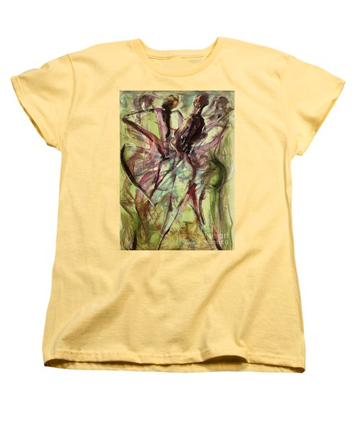 Windy Day Women's T-Shirt (Standard Cut) by Ikahl Beckford